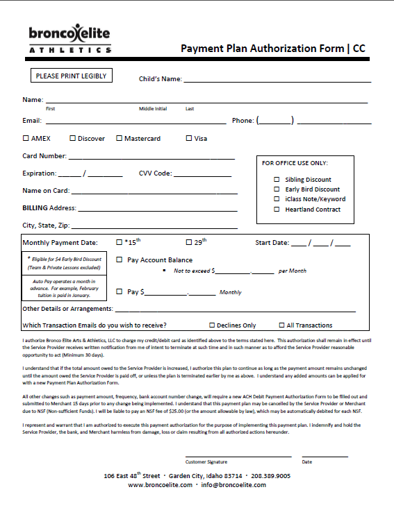 Auto Pay Form CC 2015
