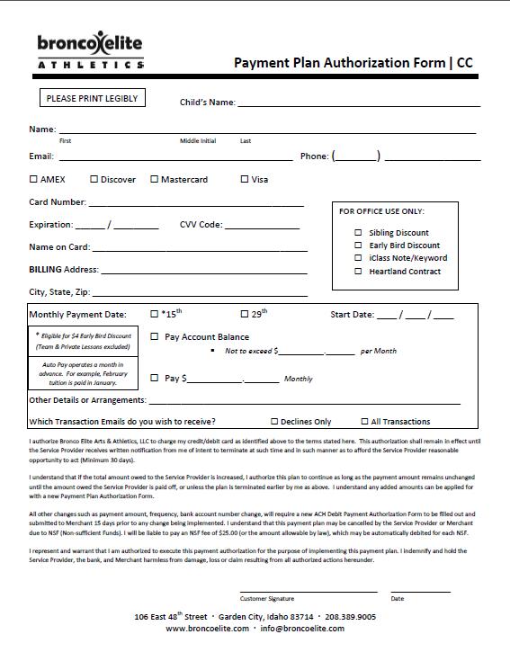 Auto Pay Form CC 2015